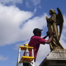 Cleaning the Baker Angel