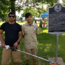 Refugee Scout's Eagle Project captures 'Spirit of Houston'